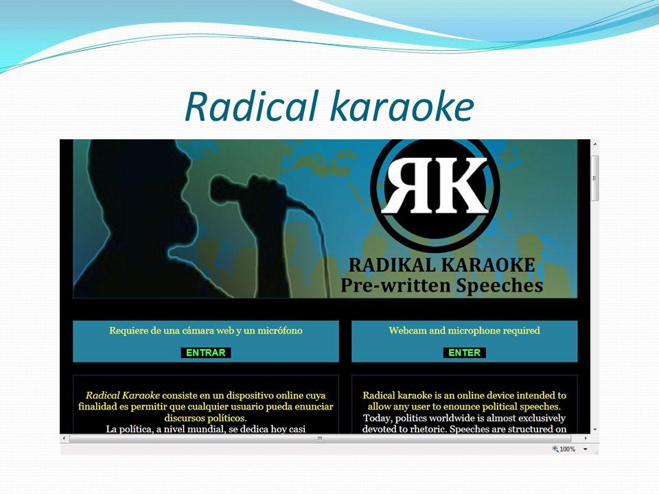 Radical karaoke