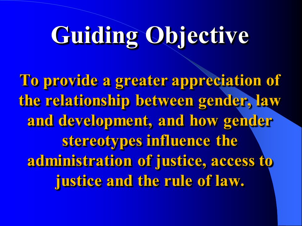 Gender Defined Complex systems of personal and social relations of power through which women and men are socially created and maintained, and through which they gain access to, or are allocated status, power and material resources within society [Barriteau 1994; 1998].