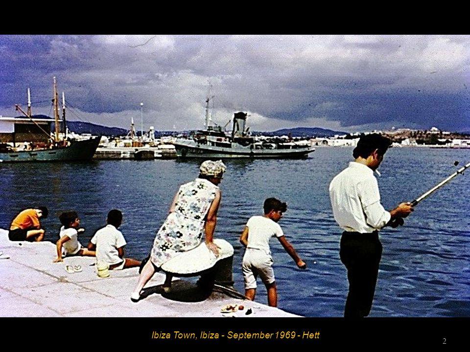 Es Canar, Ibiza - September 1969 - John and Hett 1