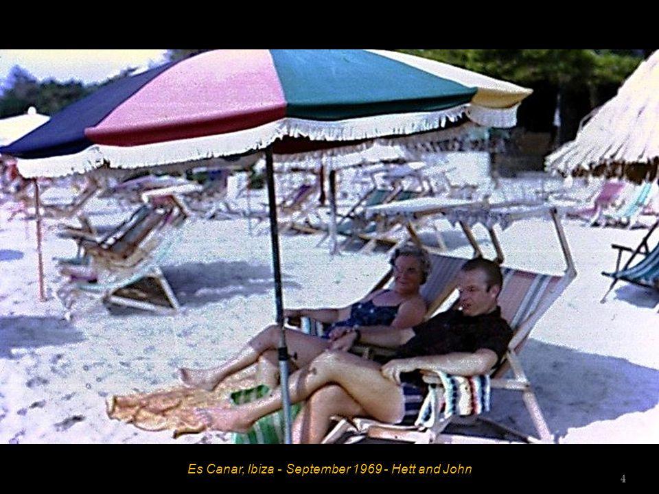 Es Canar, Ibiza - September 1969 - Bob -3