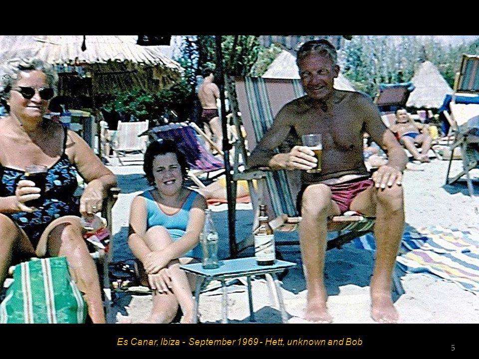 Es Canar, Ibiza - September 1969 - Hett and John 4