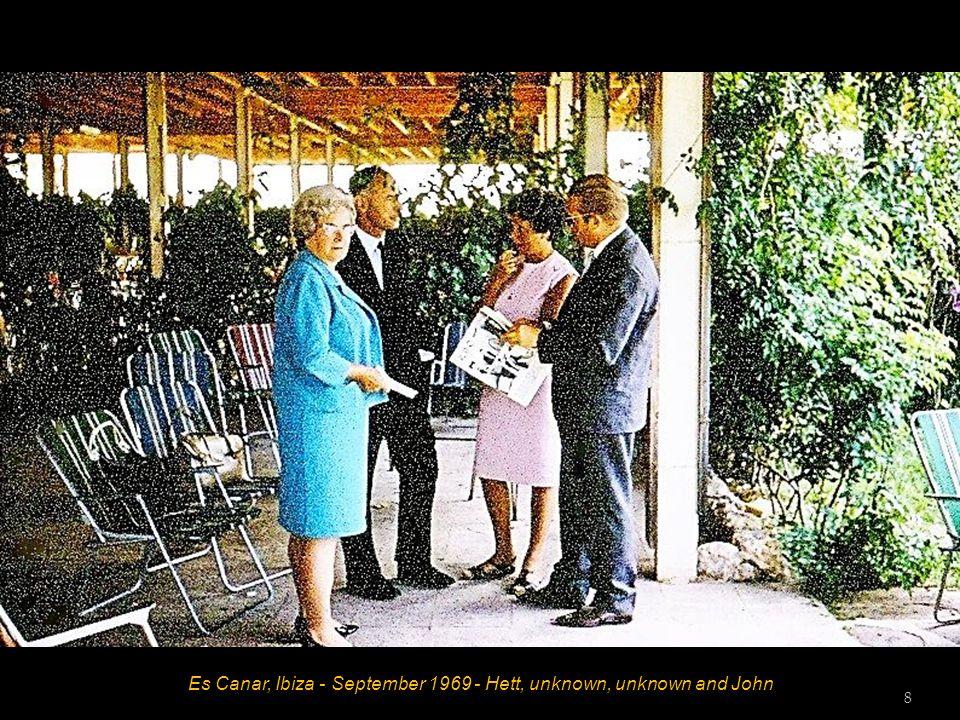 Es Canar, Ibiza - September 1969 - Hett and John 7