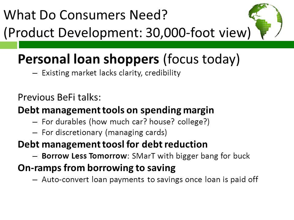 Where do Consumers Go Wrong.