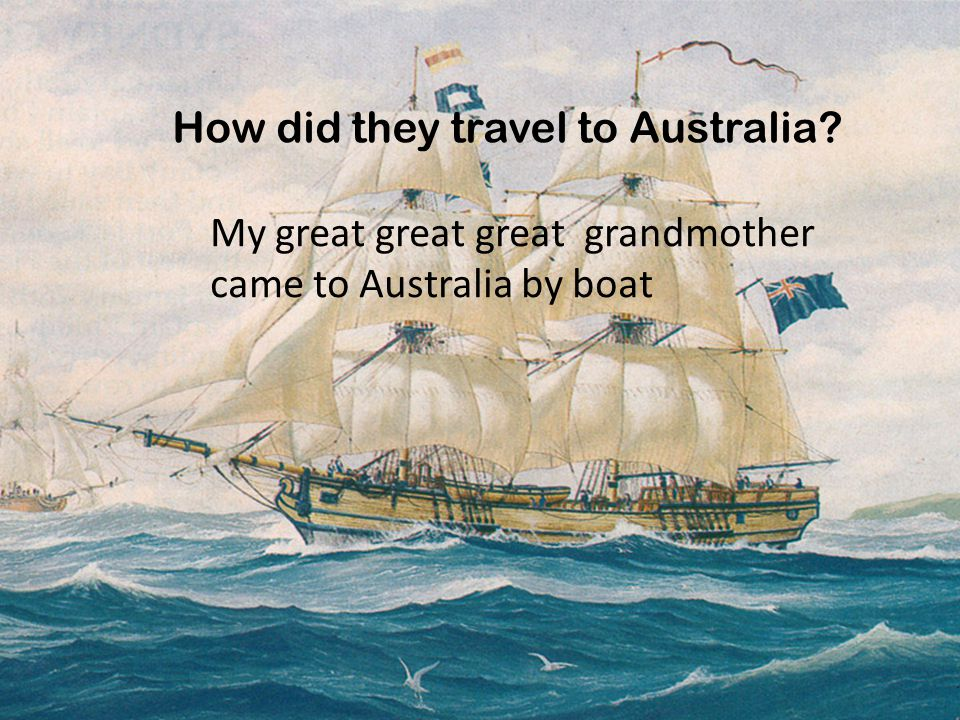 How old was this person at the time? My great great great grandmother was 18 when she arrived in Australia