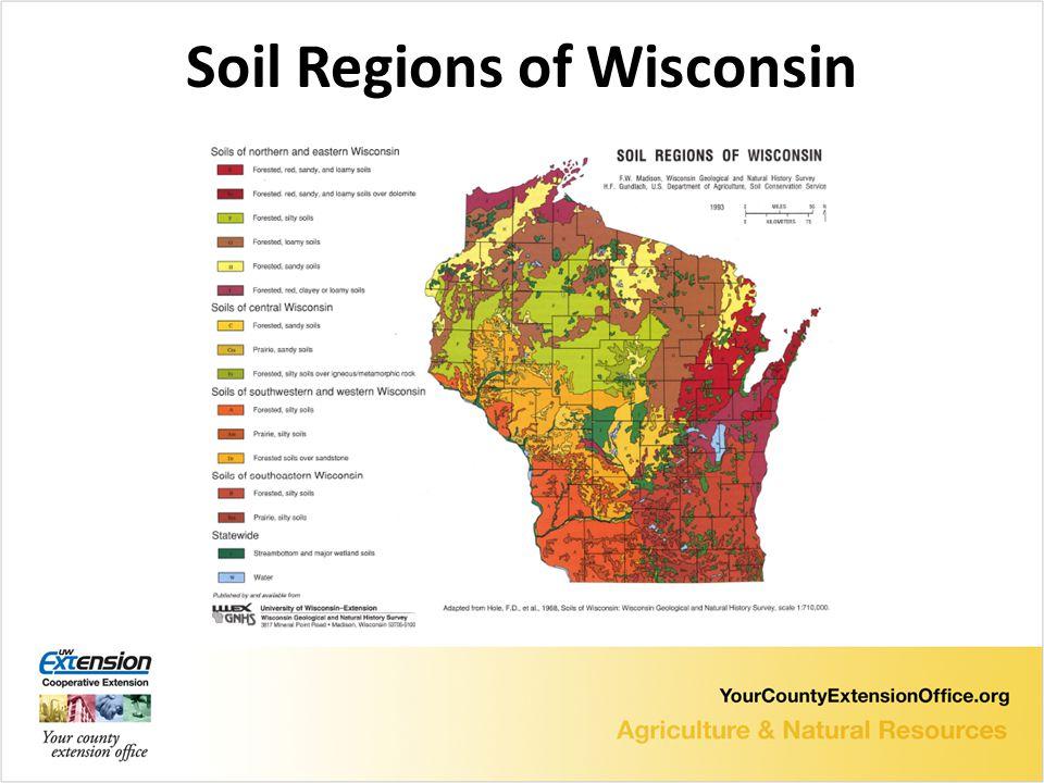 Soil Regions of Wisconsin