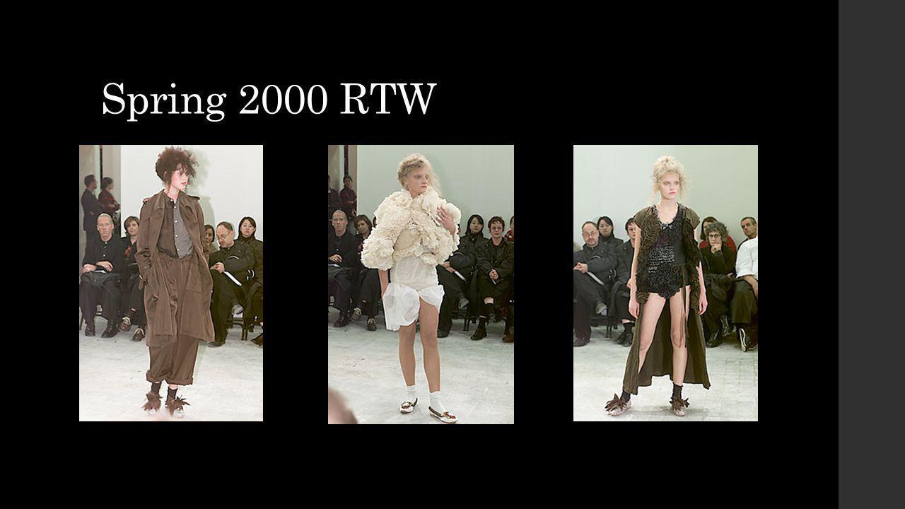Spring 2000 RTW