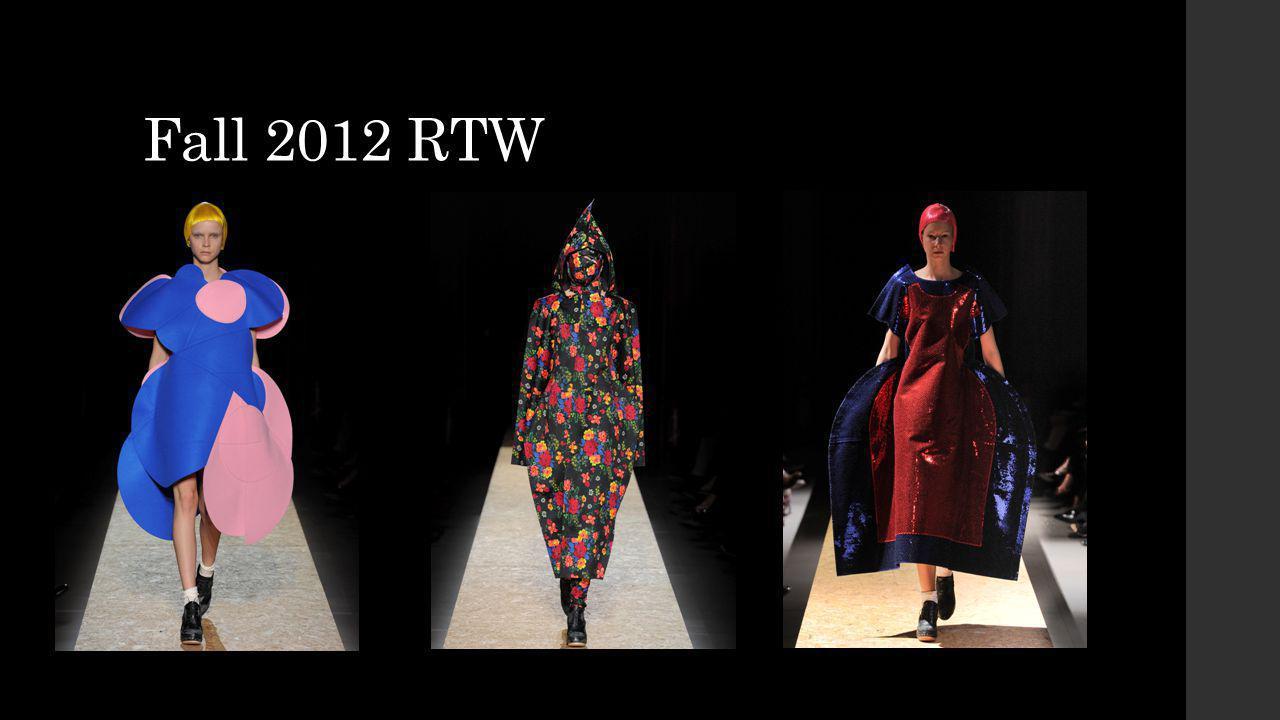 Fall 2012 RTW