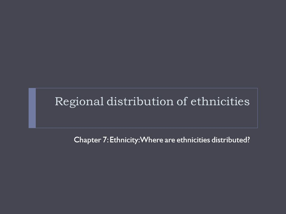 Ethnicity in the U.S. Latinos: 14% of the U.S. population  African Americans: 12% of the U.S.