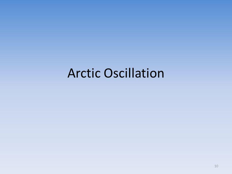 Arctic Oscillation 10