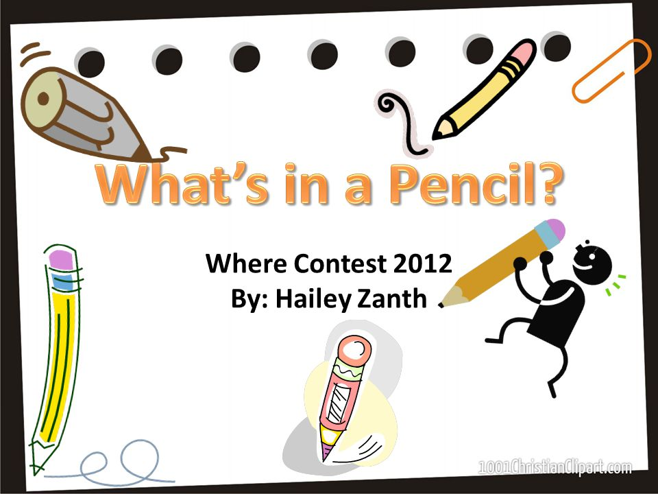 Where Contest 2012 By: Hailey Zanth