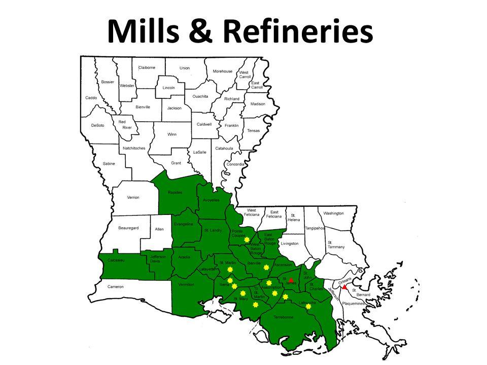 Mills & Refineries