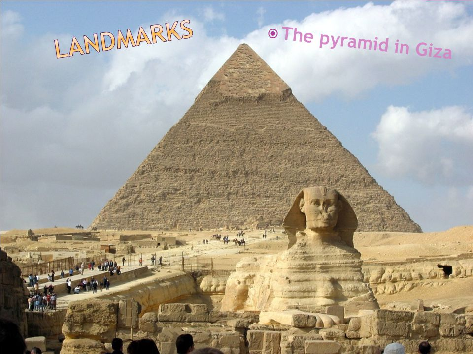  The pyramid in Giza