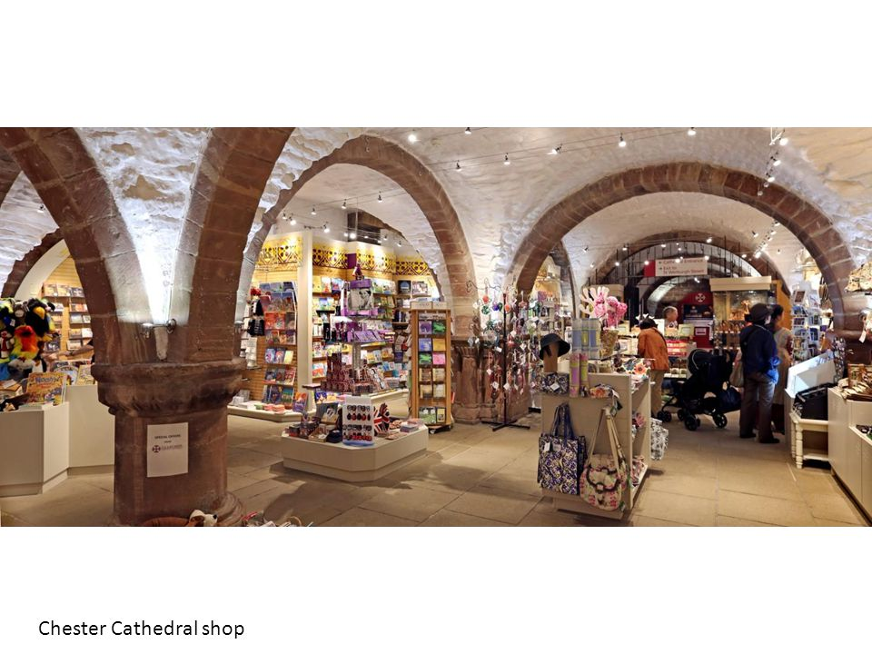 Chester Cathedral shop