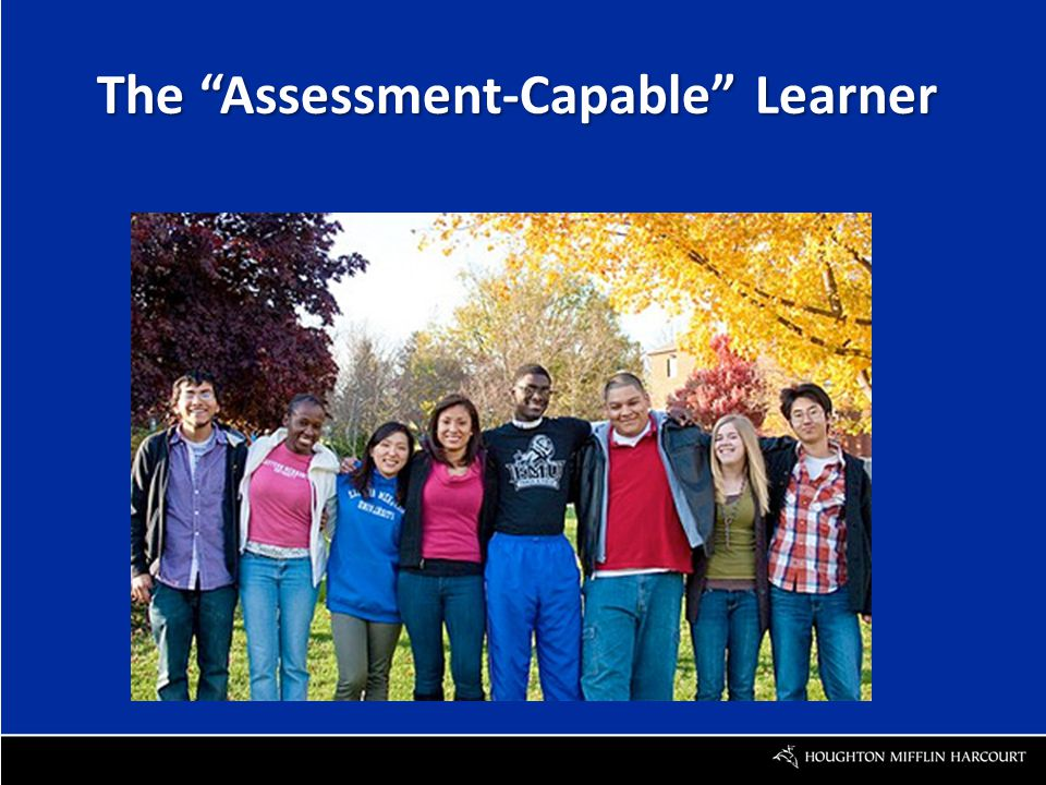 The Assessment-Capable Learner