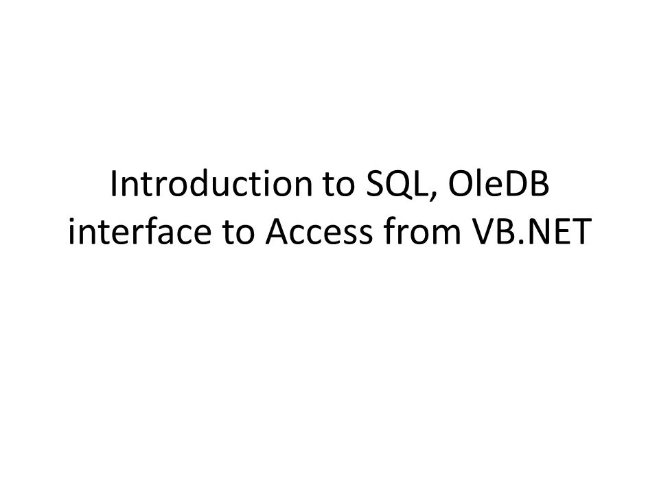 SQL Structured Query Language, abbreviated SQL – Usually pronounced sequel but also ess-cue- ell ) – The common language of client/server database management systems.