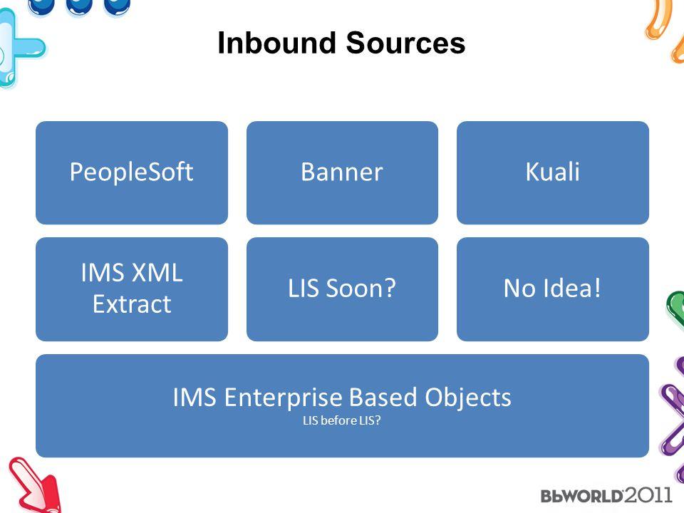 Inbound Sources