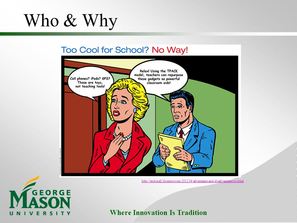 Where Innovation Is Tradition Who & Why
