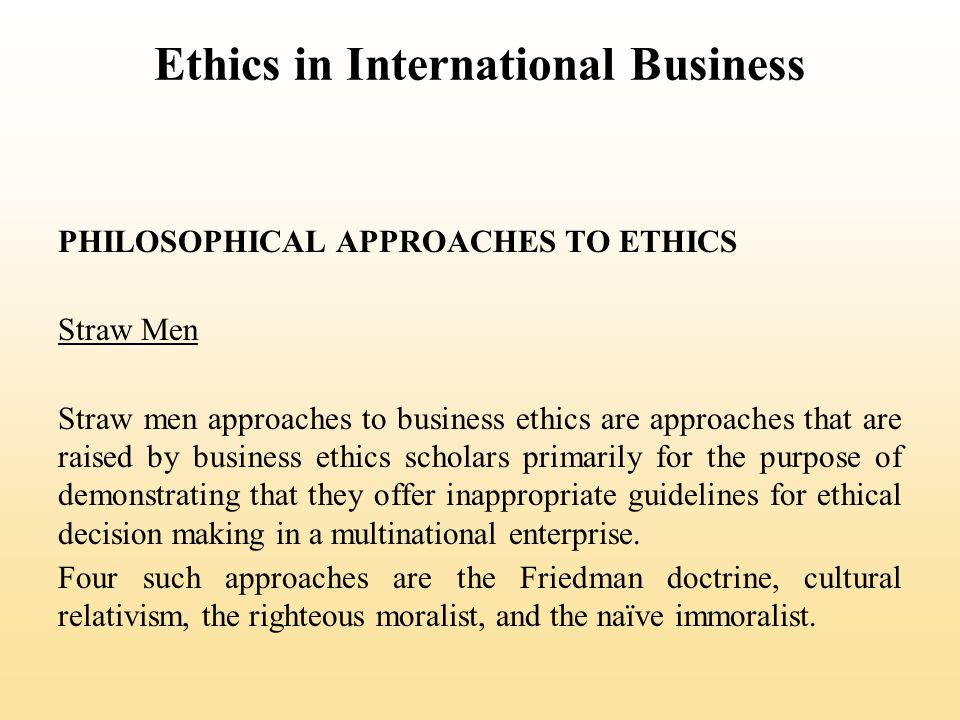 essay on business ethics