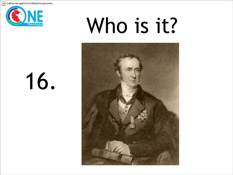 Who is it 16.