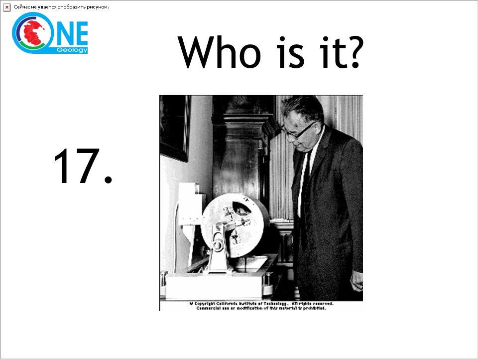 Who is it 17.