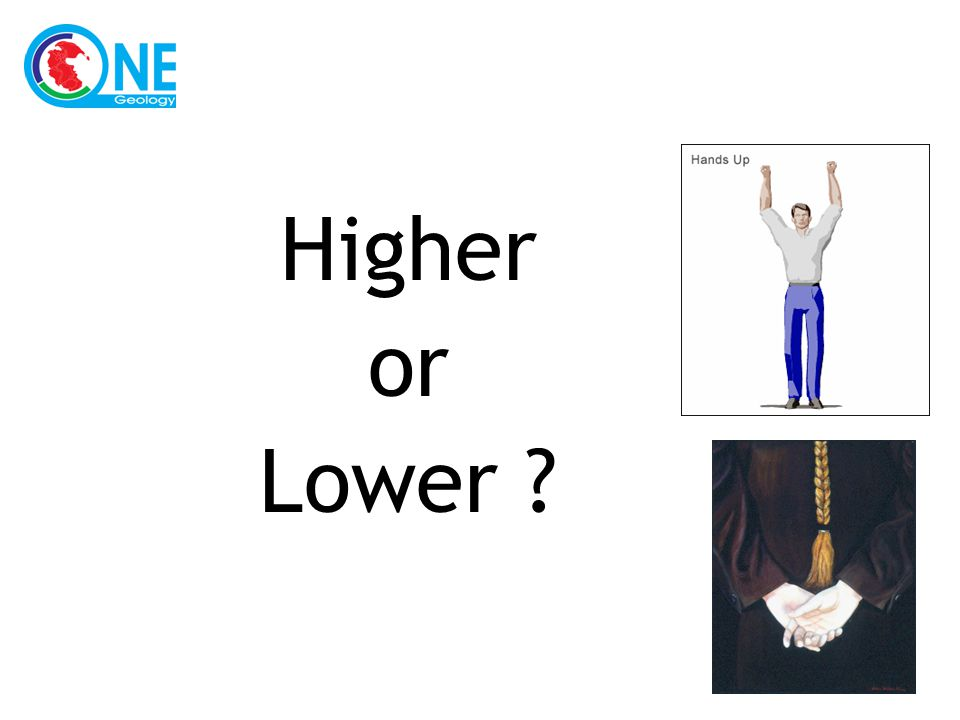Higher or Lower ?