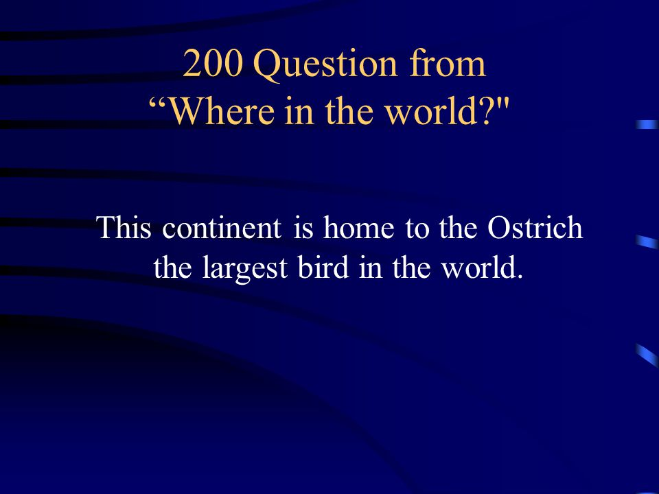 100 Answer from Where in the world What is the South Pole a.k.a. Antarctica