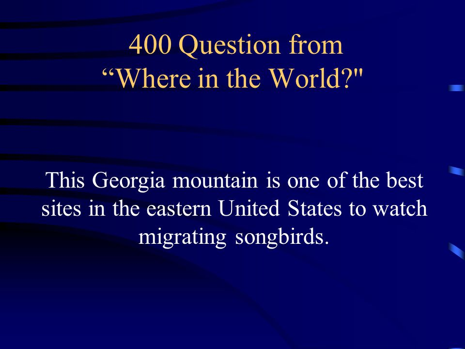 300 Answer from Where in the World What is Georgia