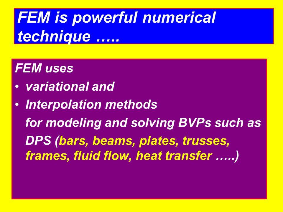 MEG 361 CAD Dr. Mostafa S. Hbib Finite Element Method