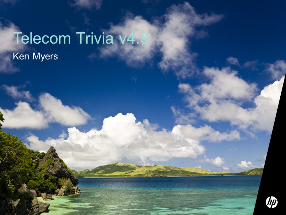 1 Telecom Trivia v4.9 Ken Myers