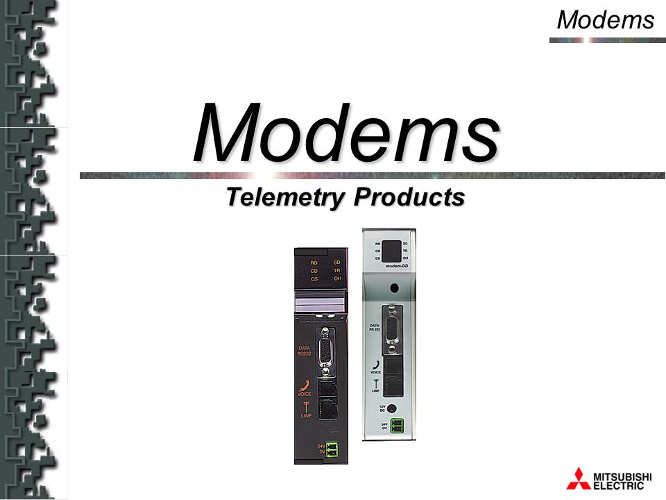 Modems Telemetry Products Modems