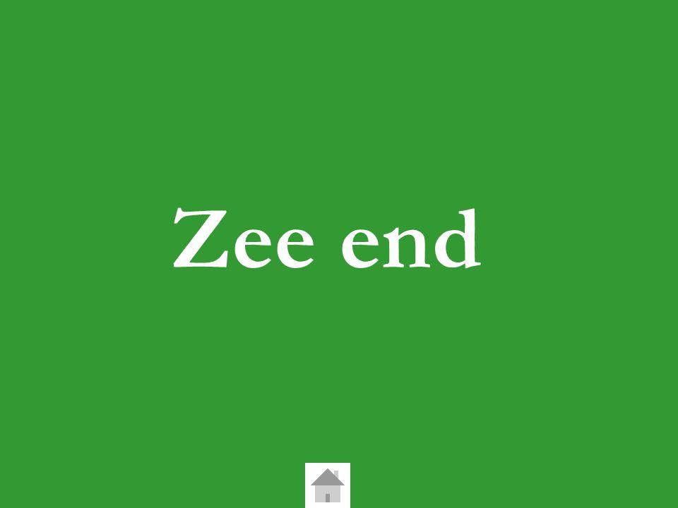 Zee end