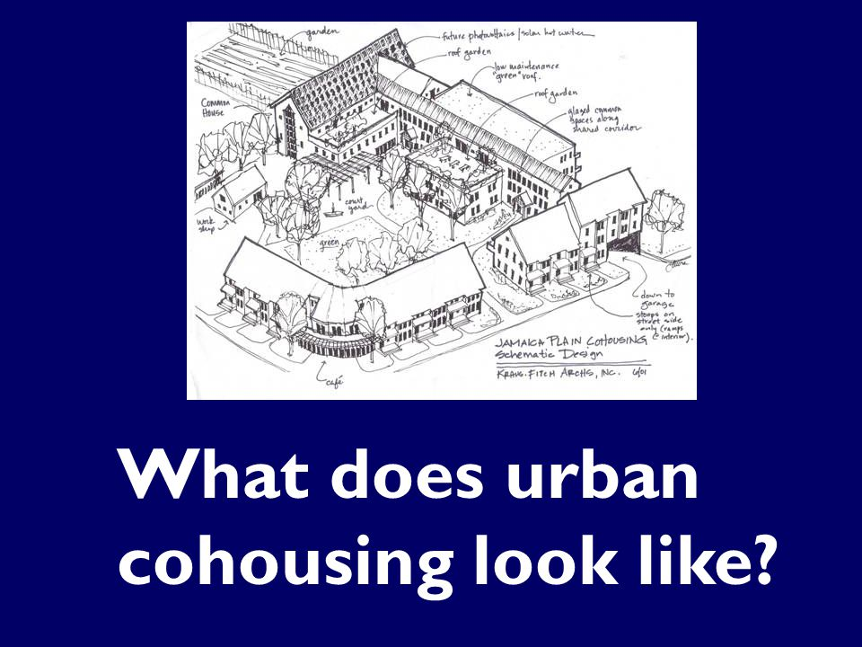 What does urban cohousing look like?