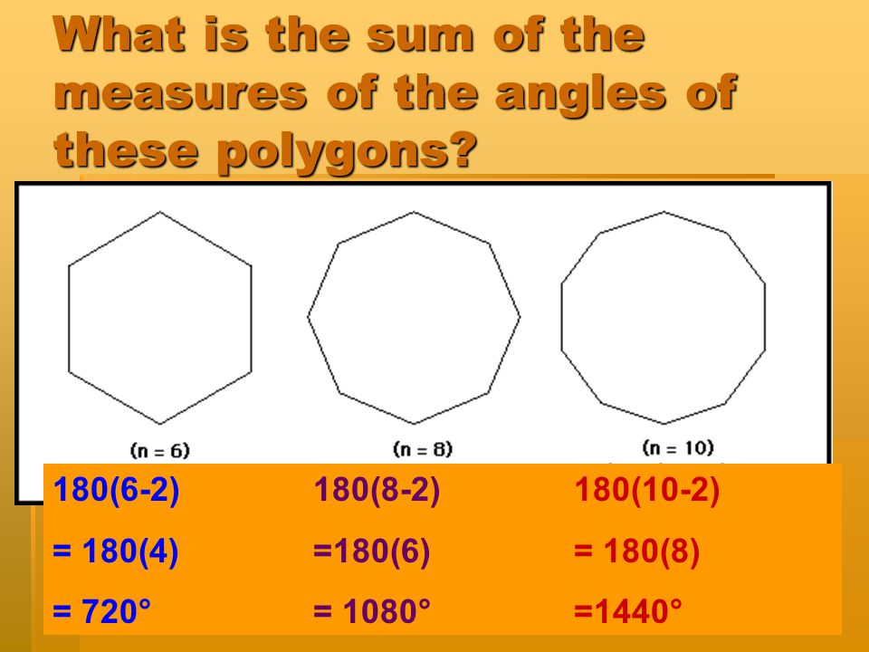 Do you HAVE to draw the triangles to find out how many of them there are in a polygon?  NO! 4 sides,5 sides, 6 sides, 2 triangles 3 triangles 4 trian