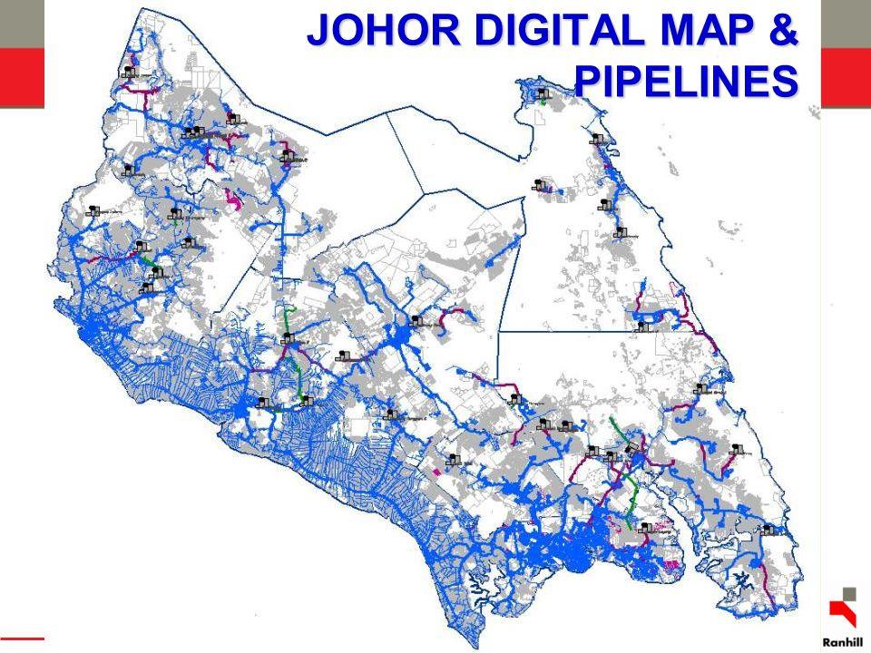 JOHOR DIGITAL MAP & PIPELINES
