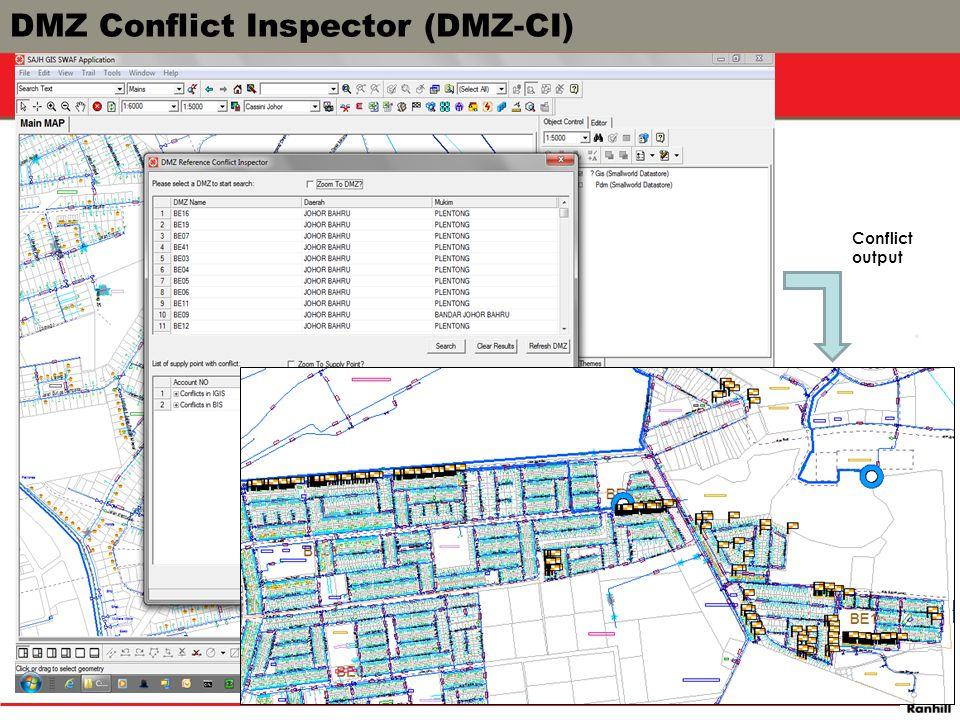 Conflict output DMZ Conflict Inspector (DMZ-CI)