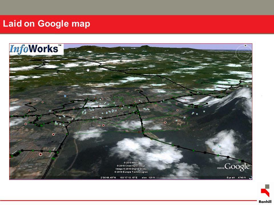 Laid on Google map