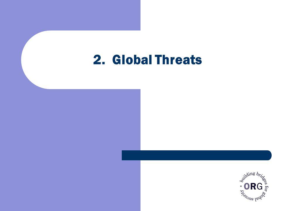 2. Global Threats