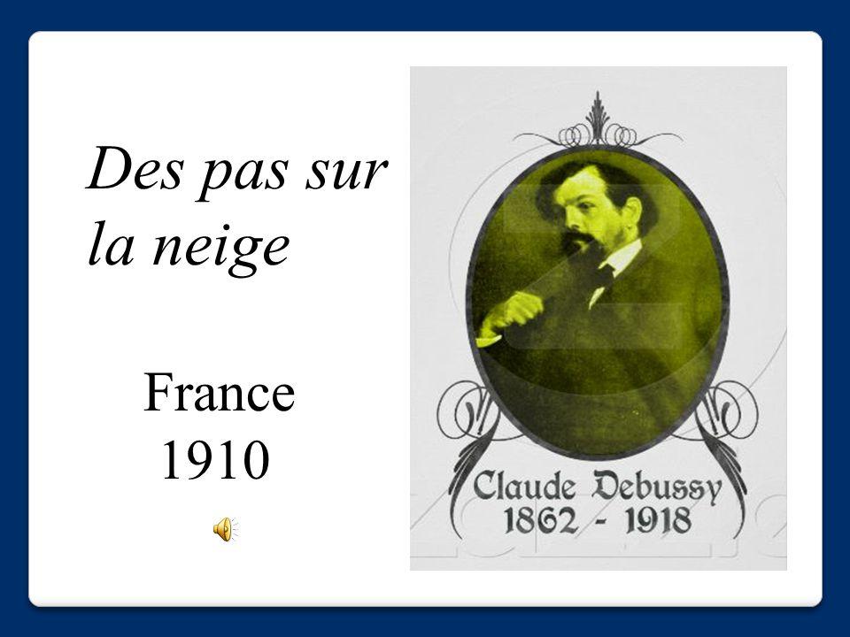 Des pas sur la neige France 1910