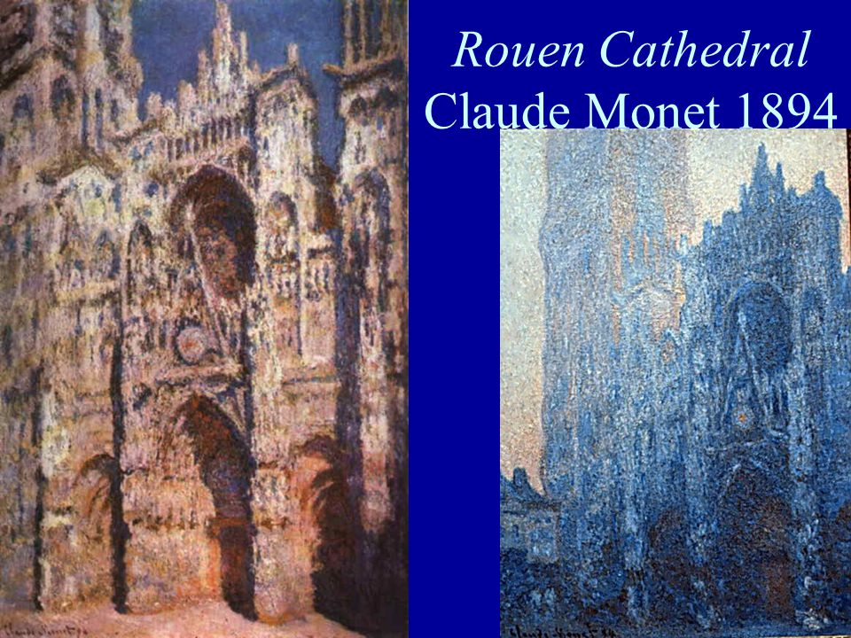Rouen Cathedral Claude Monet 1894