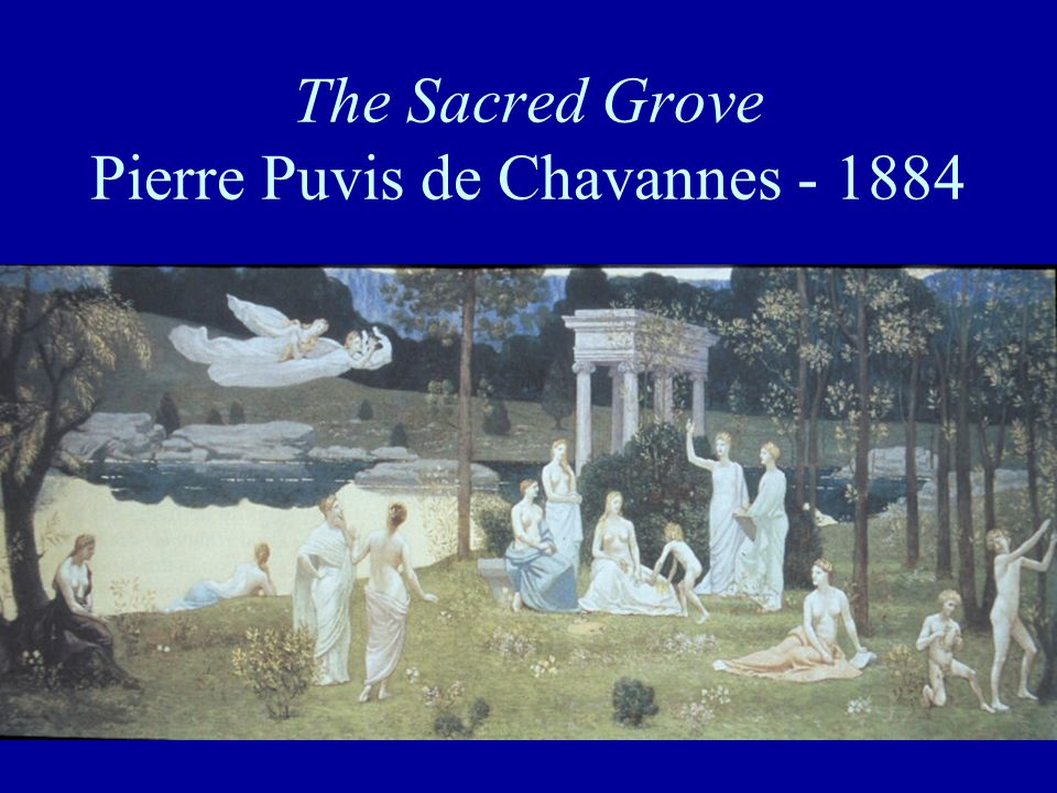 The Sacred Grove Pierre Puvis de Chavannes - 1884
