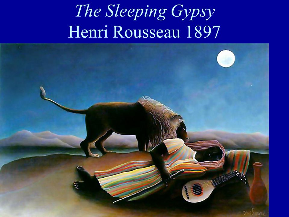 The Sleeping Gypsy Henri Rousseau 1897
