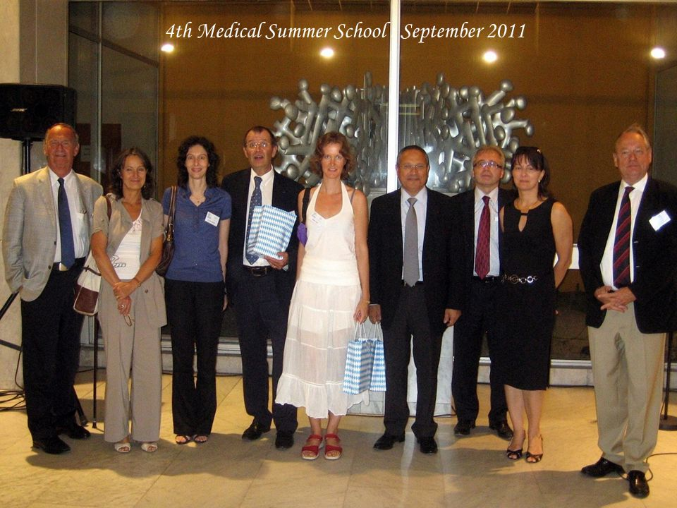 4th Medical Summer School : September 2011