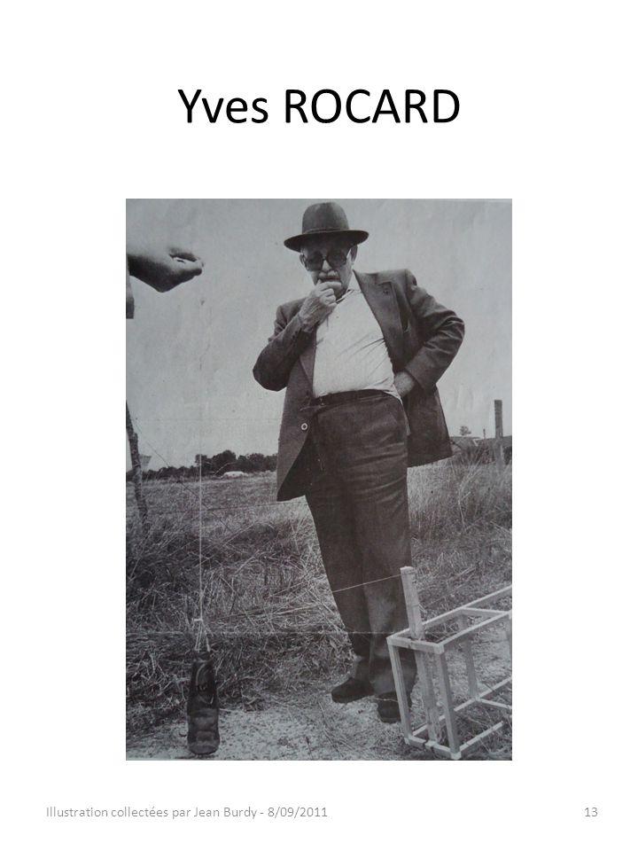 Yves ROCARD Illustration collectées par Jean Burdy - 8/09/201113