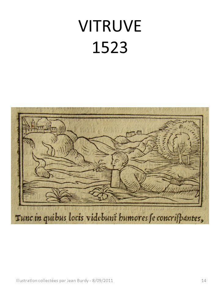 VITRUVE 1523 Illustration collectées par Jean Burdy - 8/09/201114