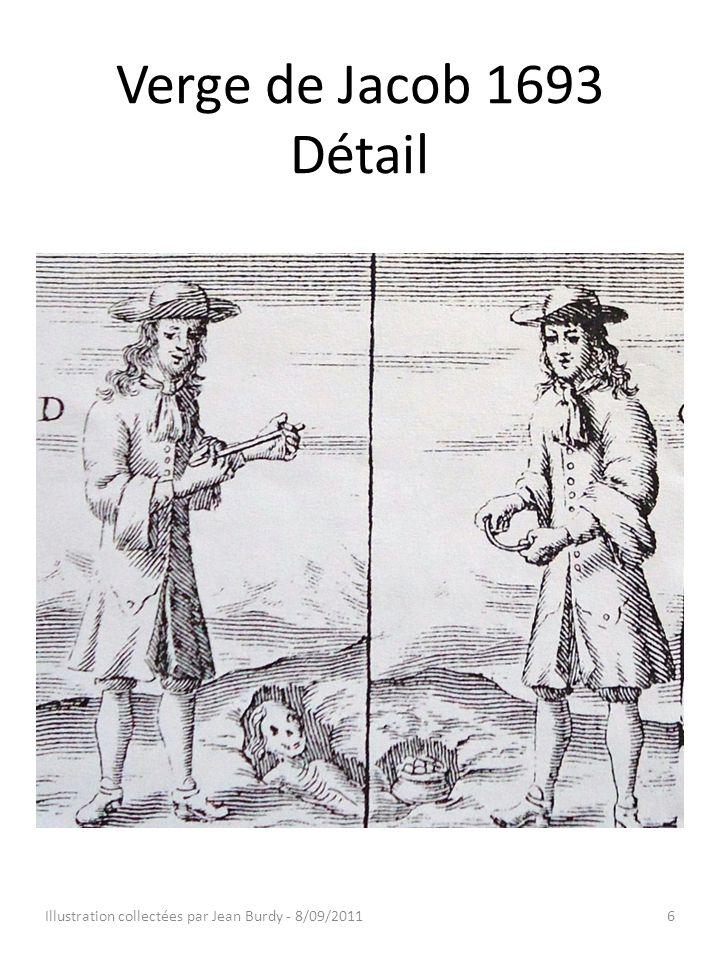 Verge de Jacob 1693 Détail Illustration collectées par Jean Burdy - 8/09/20116