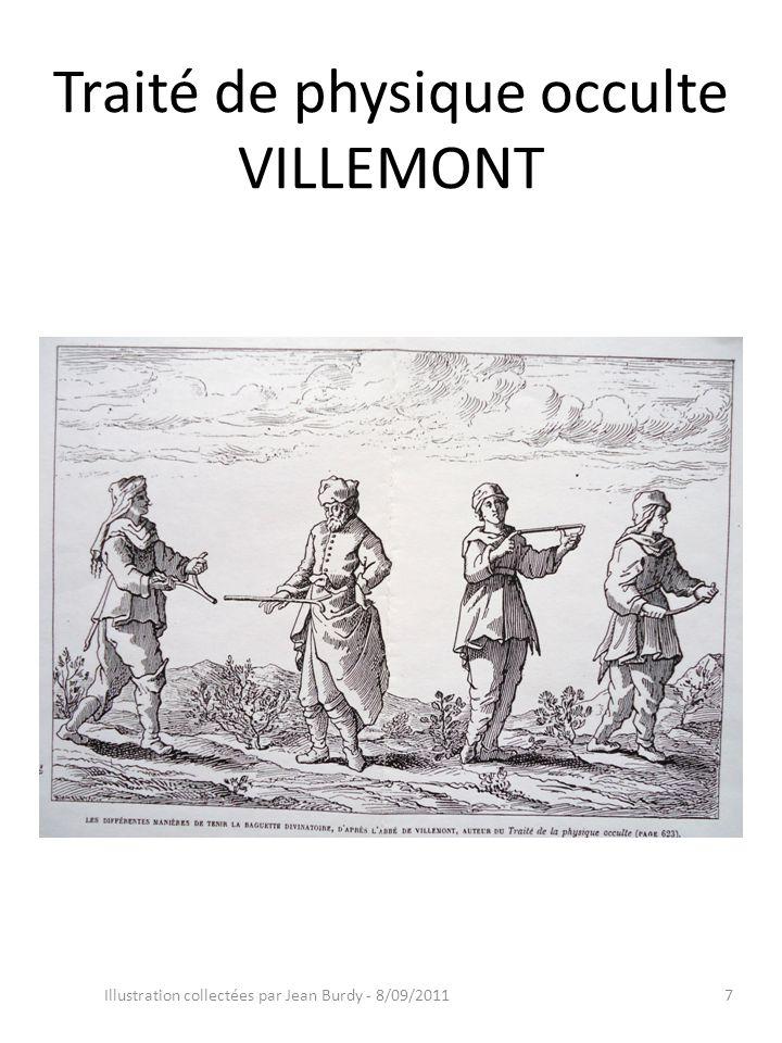 Traité de physique occulte VILLEMONT Illustration collectées par Jean Burdy - 8/09/20117