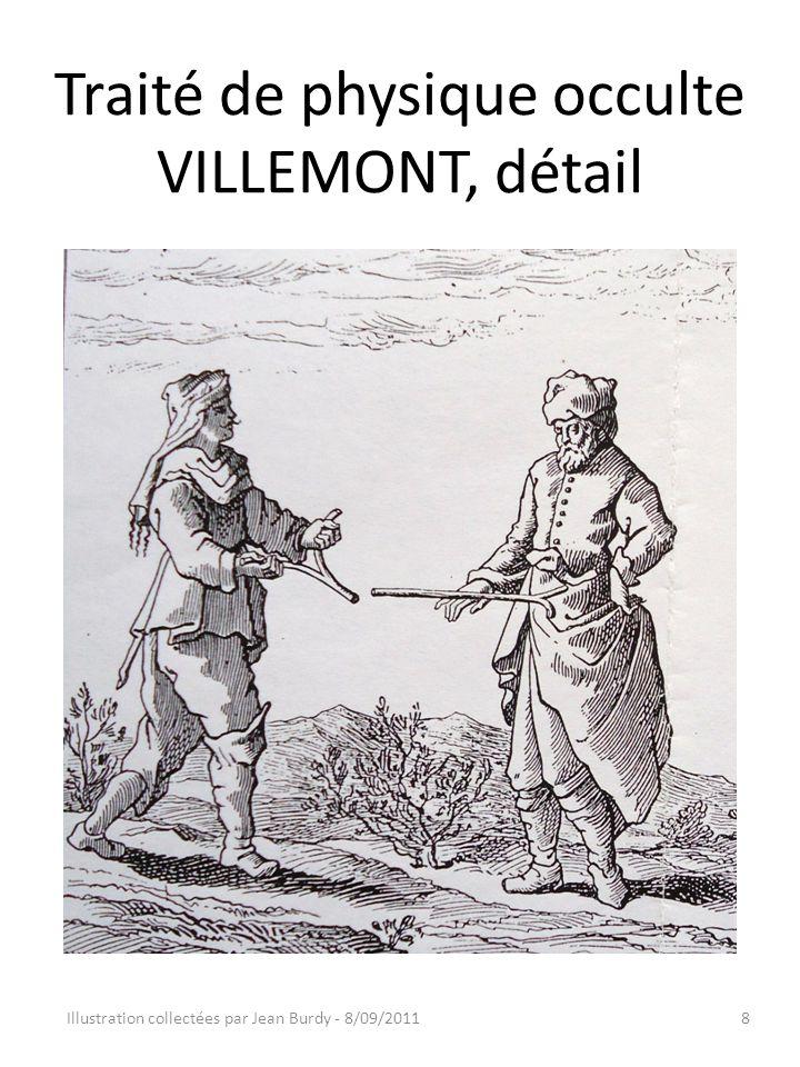 Traité de physique occulte VILLEMONT, détail Illustration collectées par Jean Burdy - 8/09/20118