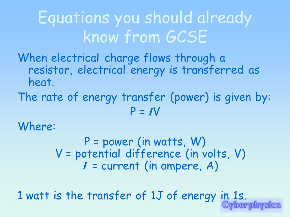 Electrical Energy Transfer As an electric current flows through a circuit, energy is transferred from the battery or power supply to the components in