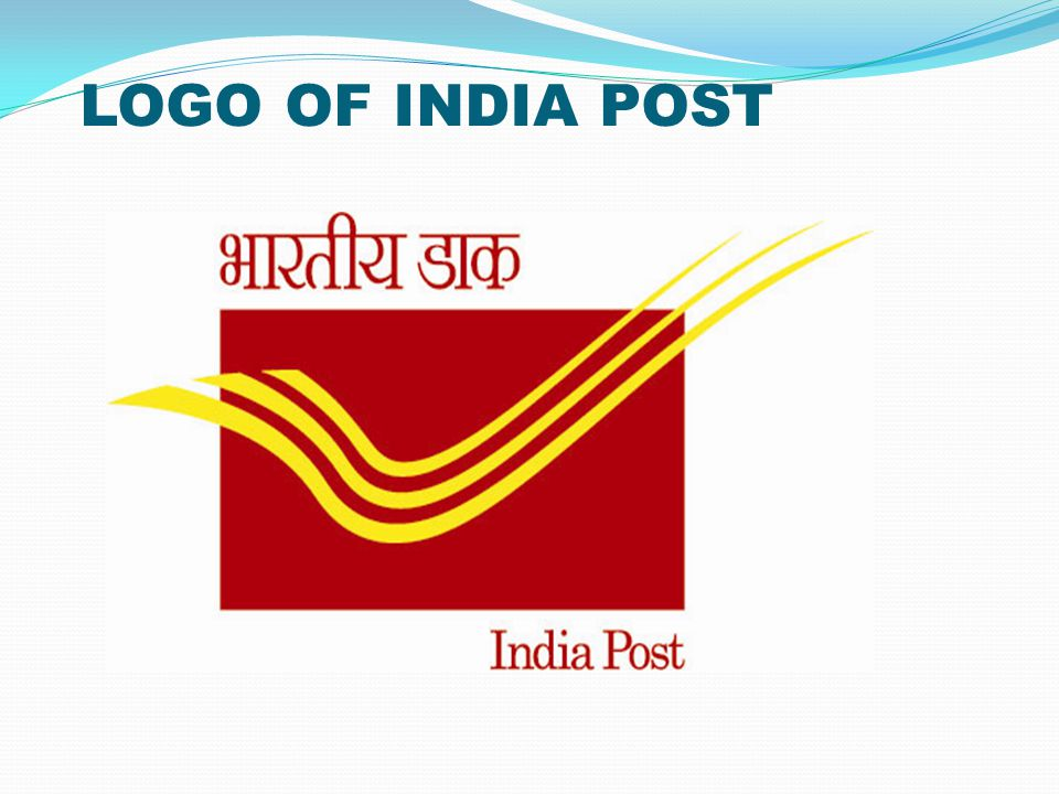 LOGO OF INDIA POST