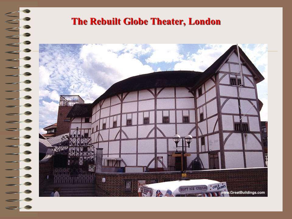 The Rebuilt Globe Theater, London